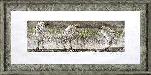 Cathey December - Huddled Egrets