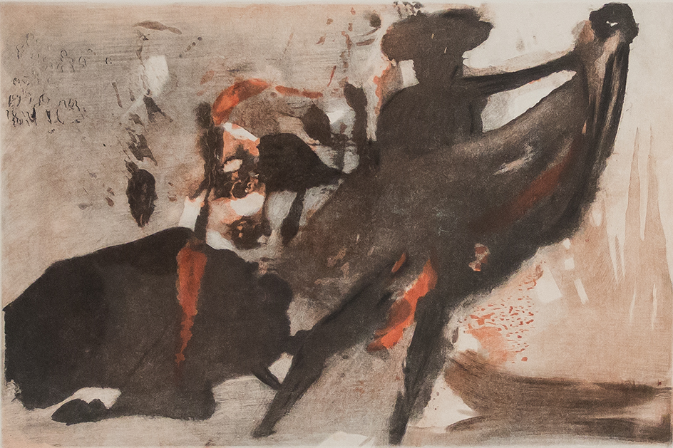 Salvador Dali bullfight