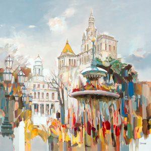Josef Kote - josef kote original painting