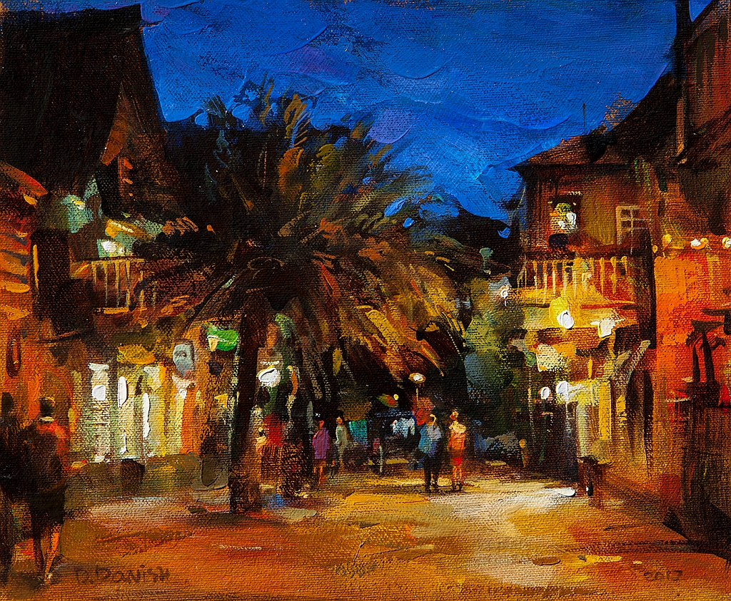 Night, St. Augustine