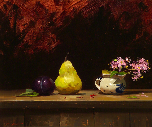 Pear, Plum & Creamer
