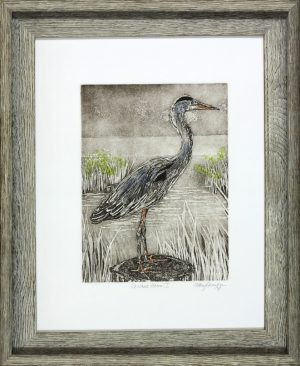 Cathey December - Perched Heron I