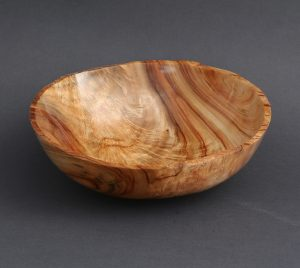 Mark Wood - Rough Edge Camphor Bowl