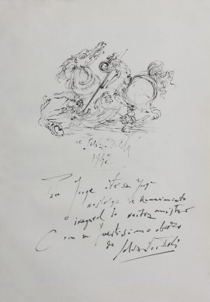 Salvador Dali - salvador dali originals for sale