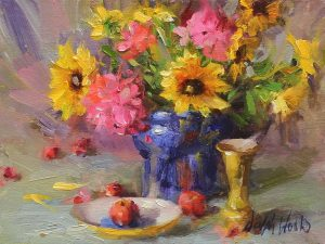 Mary Dolph Wood - Still Life Bouquet