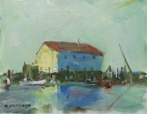 Anne Packard - Sunlit Wharf