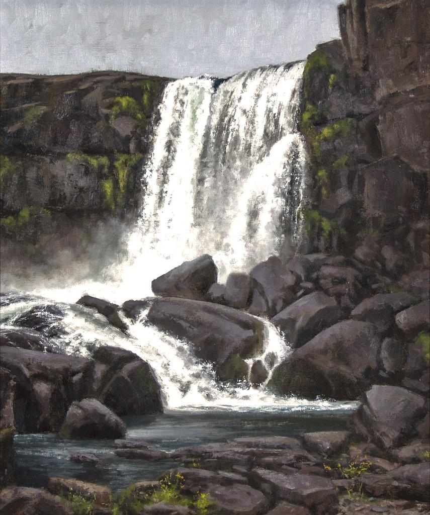 Thingvellir Waterfall II