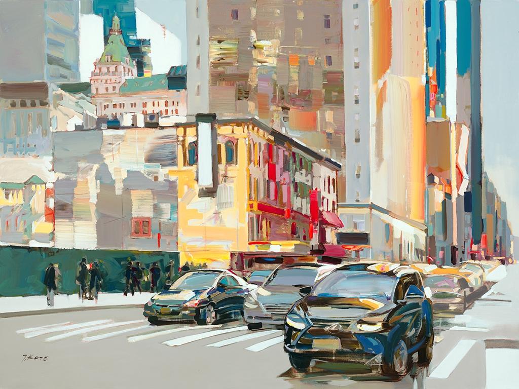 josef kote original painting