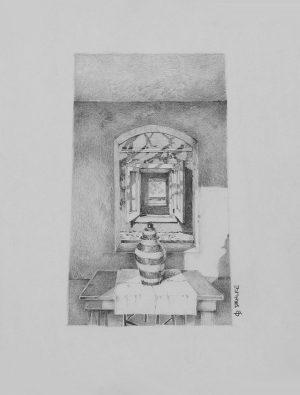 Don Dahlke - Urn on a Table