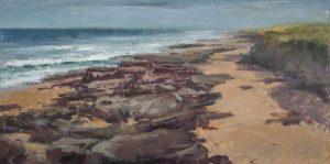 Matthew Cutter - Washington Oaks Beach Looking South: