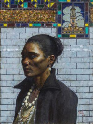 Daniel Greene - Woman with a Pearl Earring
