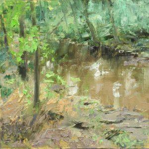 Matthew Cutter - Woodland Stream