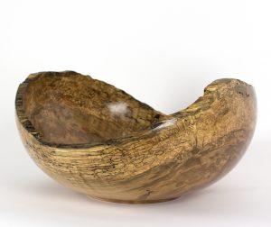 Mark Wood - Maple Natural Edge Bowl