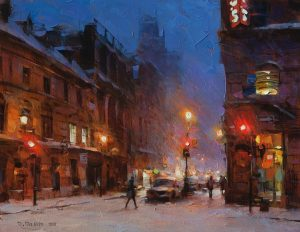 Dmitri Danish - Snowy Evening