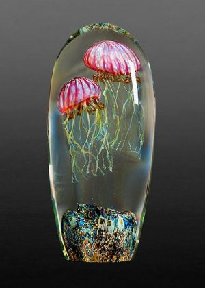 Richard Satava - Double Gold Ruby Jellyfish