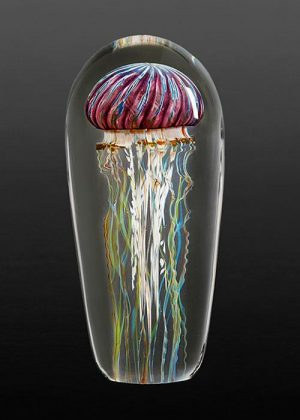 Richard Satava - Purple Ribbed Jellyfish