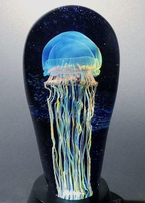 Richard Satava - Moon Jellyfish Seascape