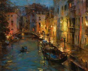 Dmitri Danish - Drizzle in Venice