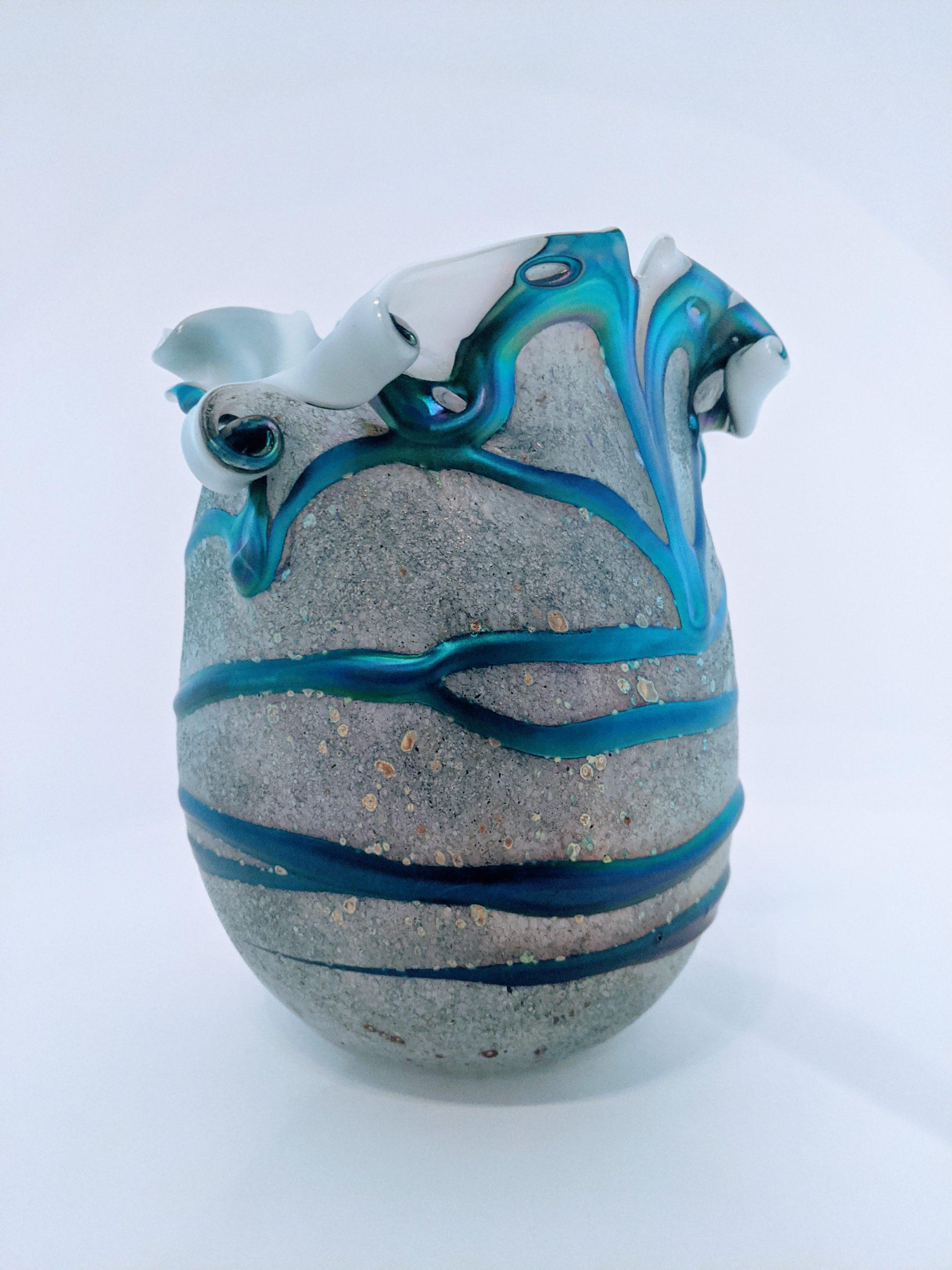 Large Lava Vase