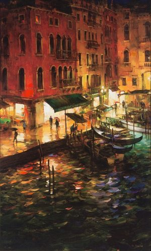 Dmitri Danish - Night Quay