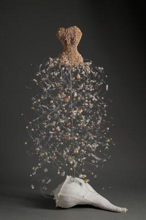 Estella Fransbergen - Stone Torso with Pearls/Quartz