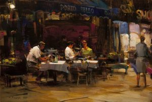 Dmitri Danish - Street Cafe