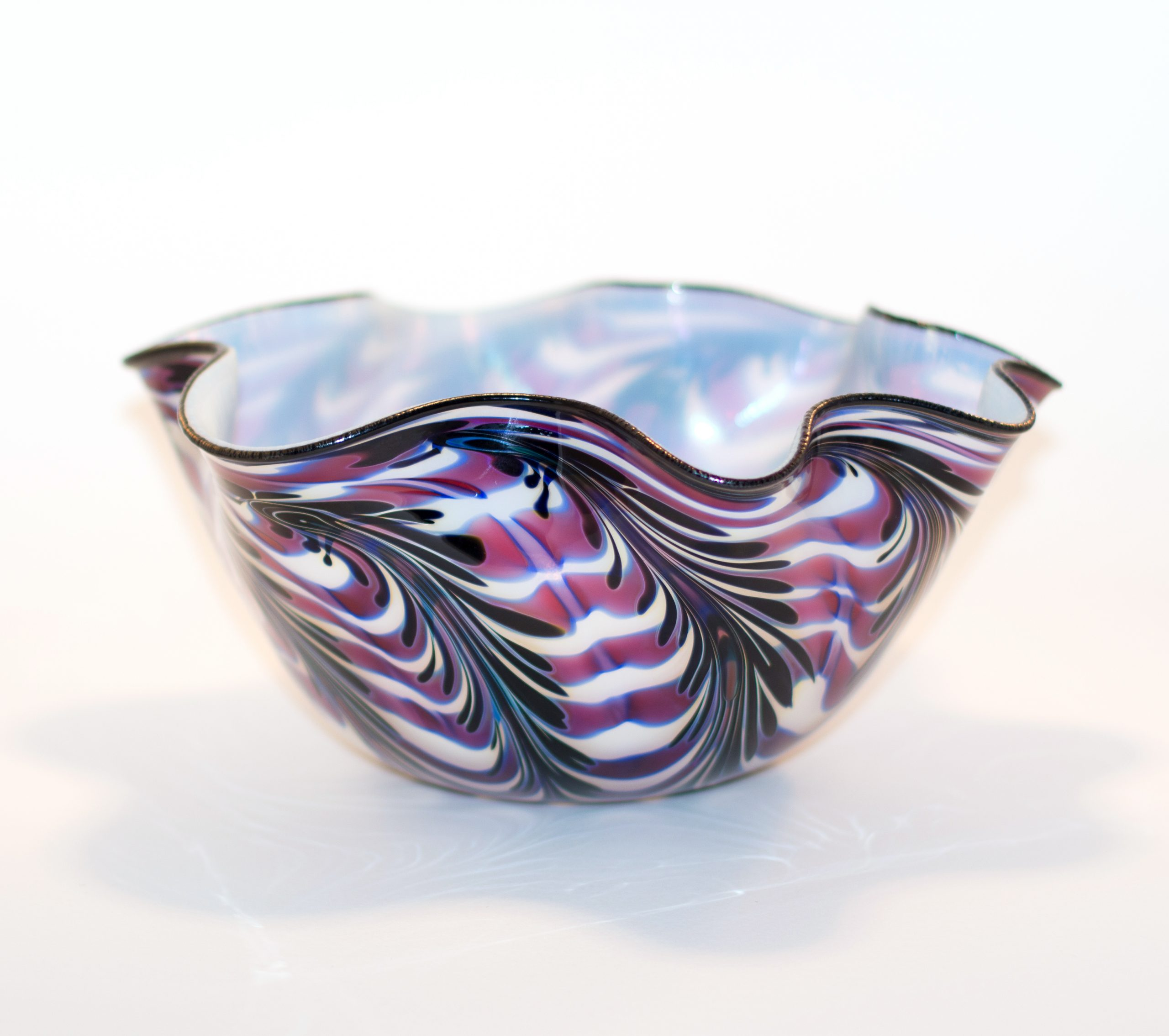 Taco Shell Bowl - Pulled Feather/White