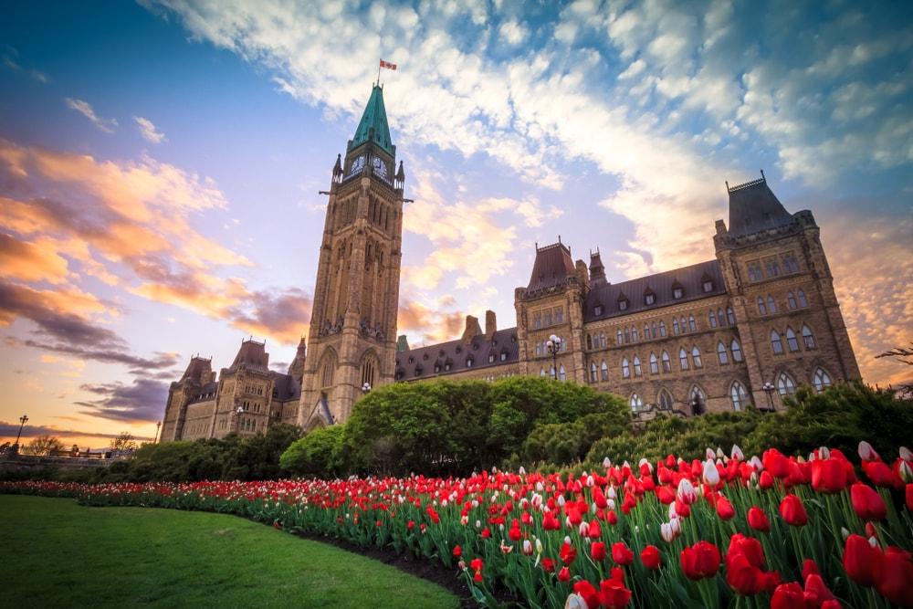Take in the grandeur of Ottawa's architecture