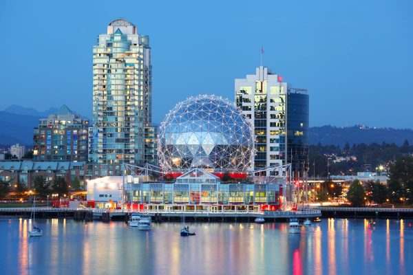 science world vancouver british columbia canada