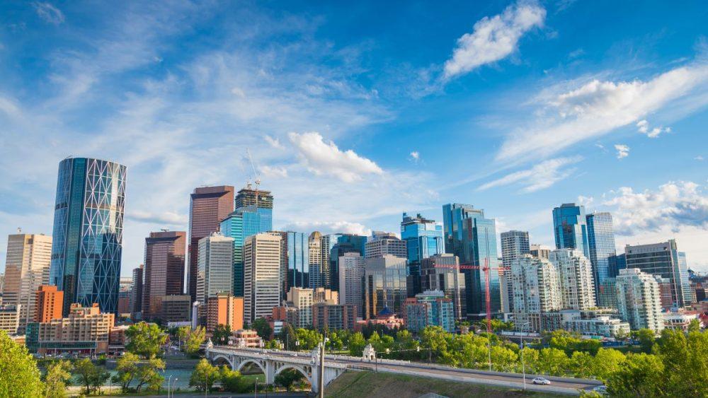 Alberta skyline Canada