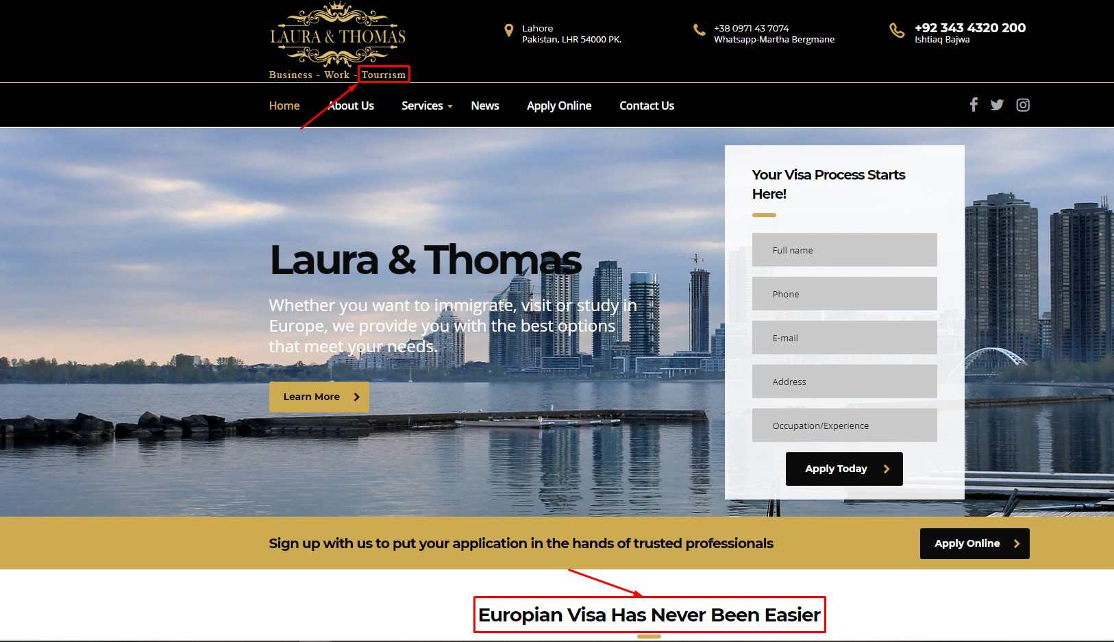 European visa Canadian immigration website scam fraud | real or fake