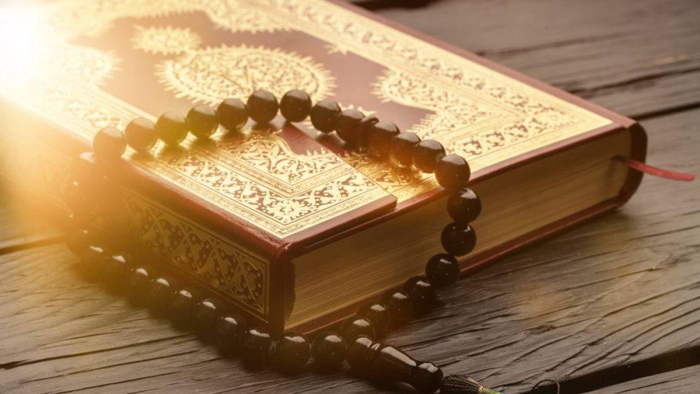qu'ran and Islamic prayer beads