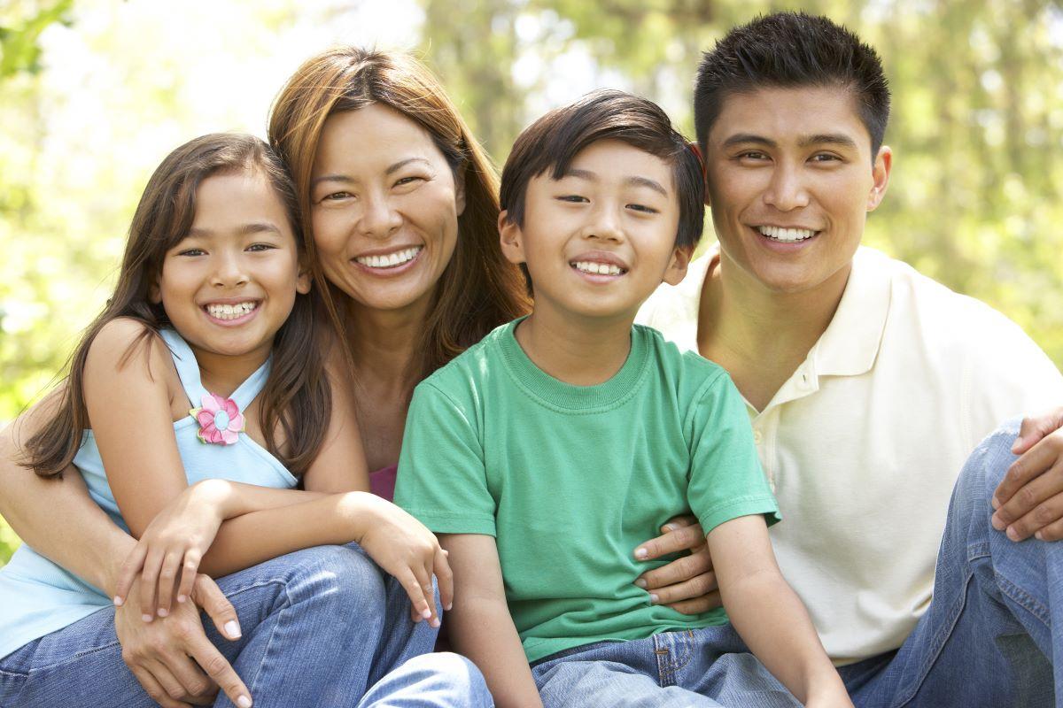 Filipino family in Canada