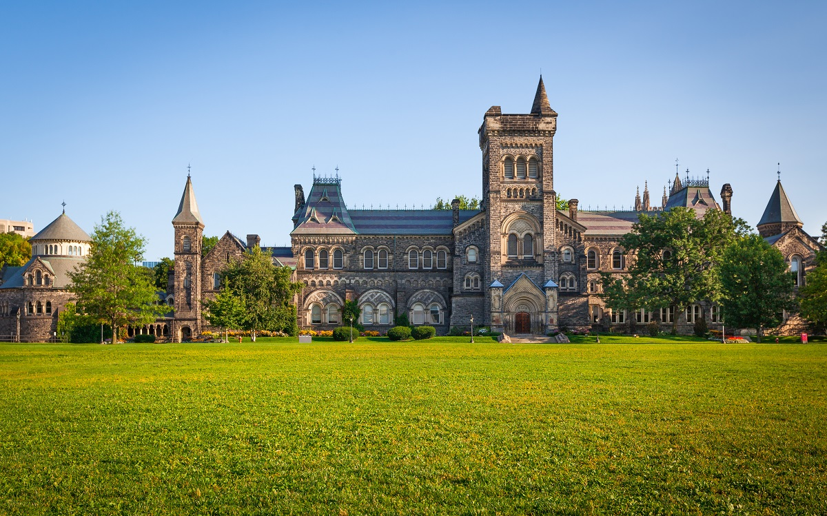 beautiful stone building at the University of Toronto-Study in Canada