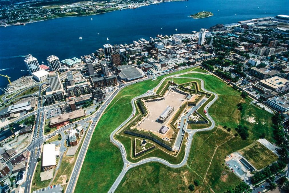 aerial view of halifax nova scotia atlantic canada | immigrate to Canada