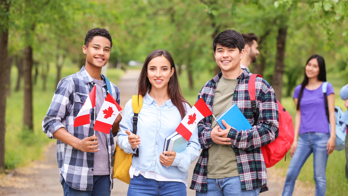 Happy-young-international-students-Study-in-Canada