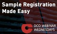Sample Registration Made Easy