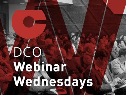 DCO Webinar Wednesdays