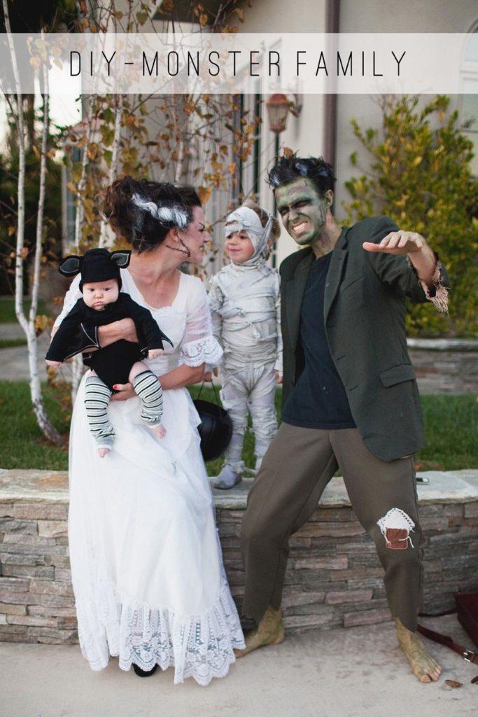 Monster family costume idea