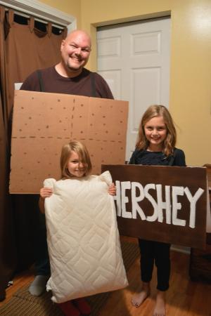 Smore's family costume idea