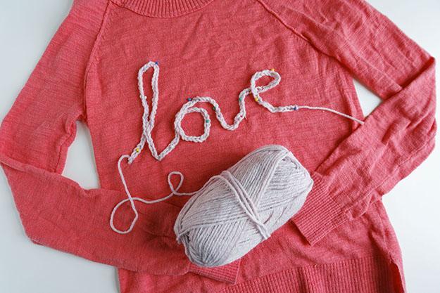 LOVE wordy sweater