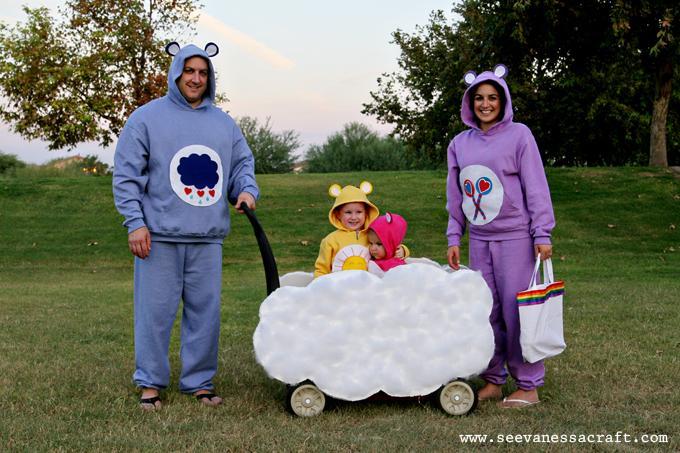 Care bear family costume idea