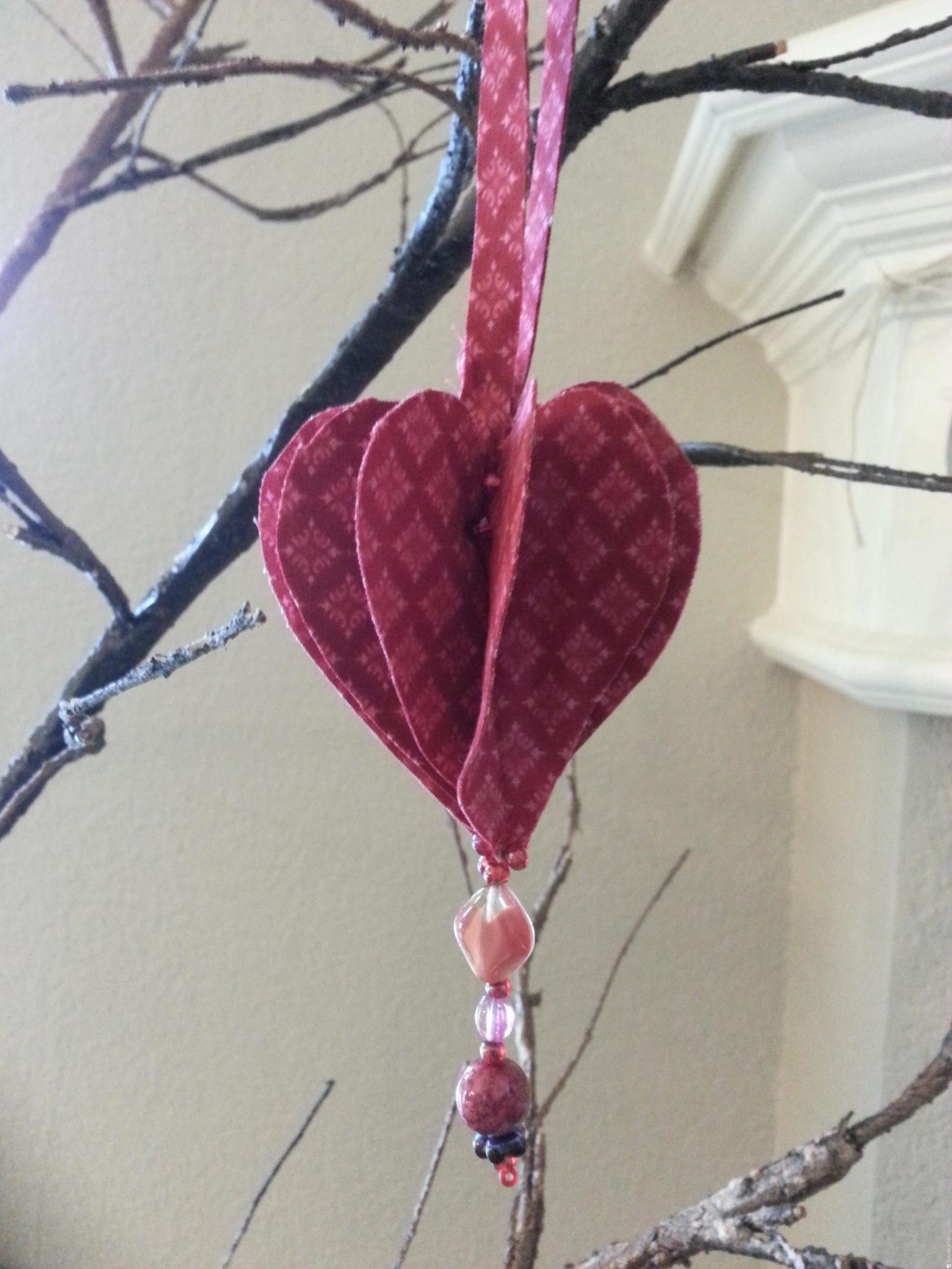 3D Fabric Heart