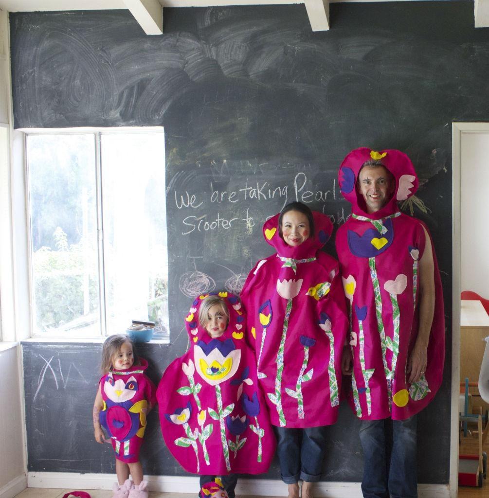 Russian stacking dolls family halloween costume idea
