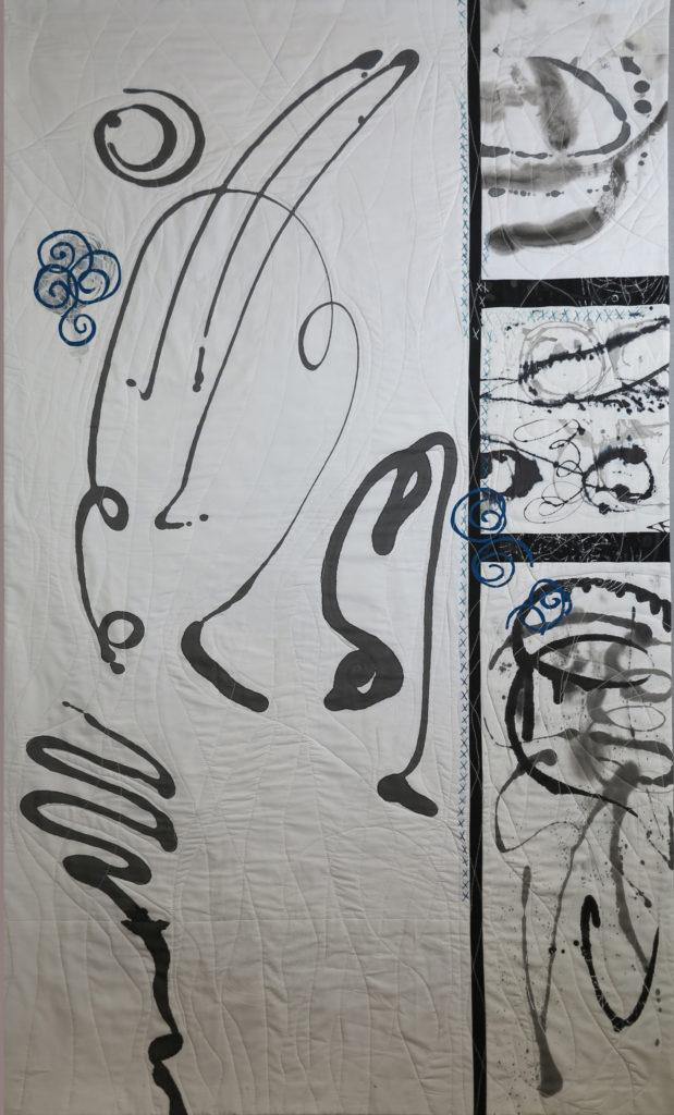 Test Patterns art quilt