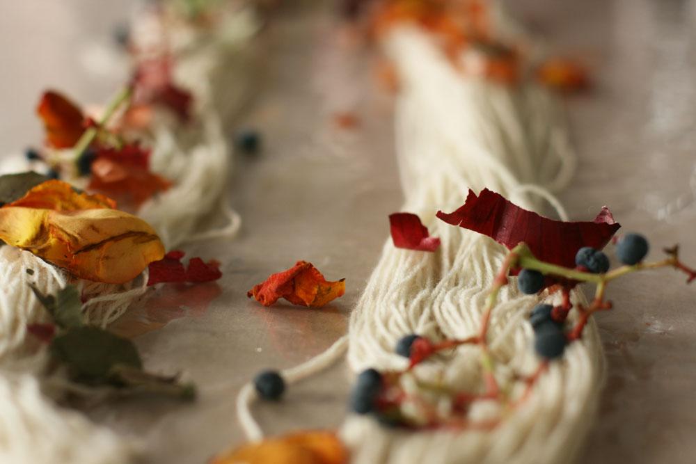Tatiana Sarasa Purl and Poem hand dyed yarn