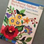 Back-basting Applique Step by Step book