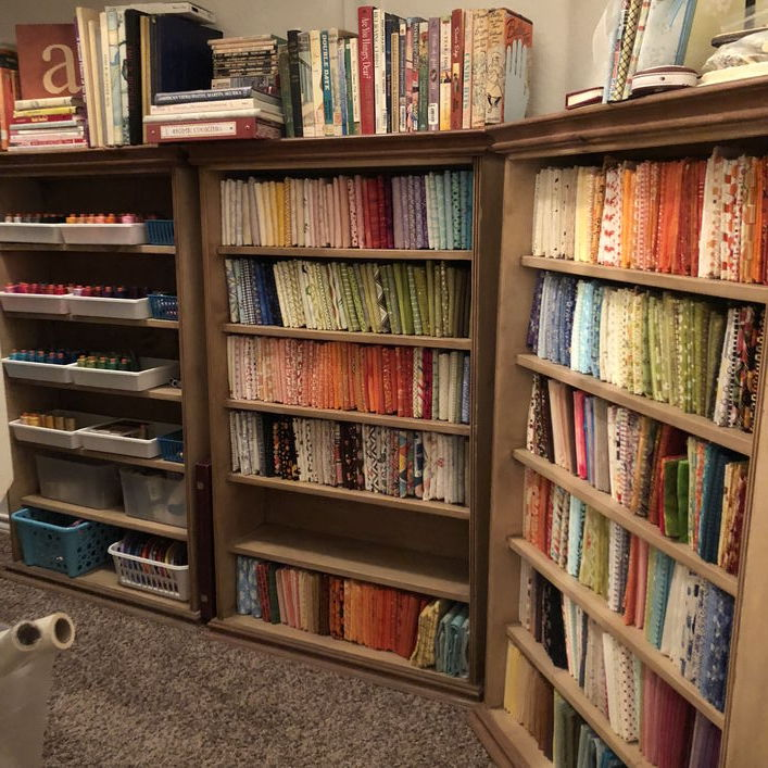 Organized Fat quarters
