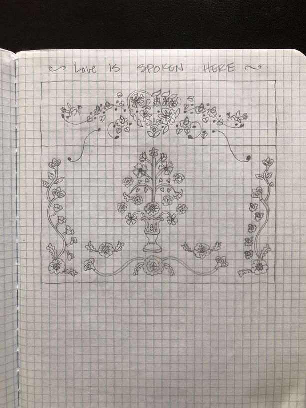 Another design in Annie's sketch book