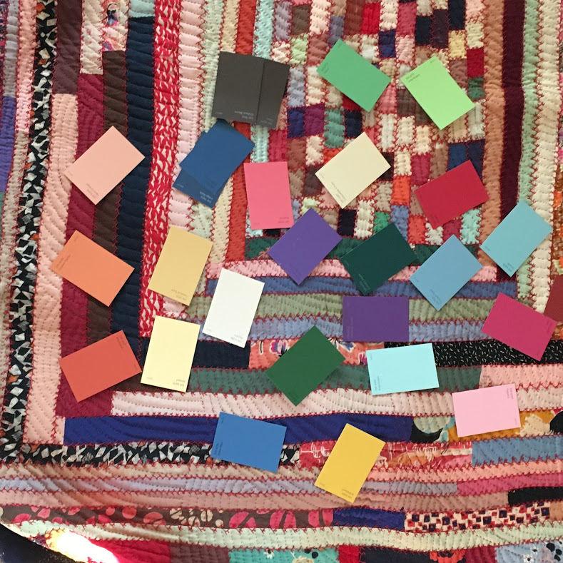 Tiara color pallett